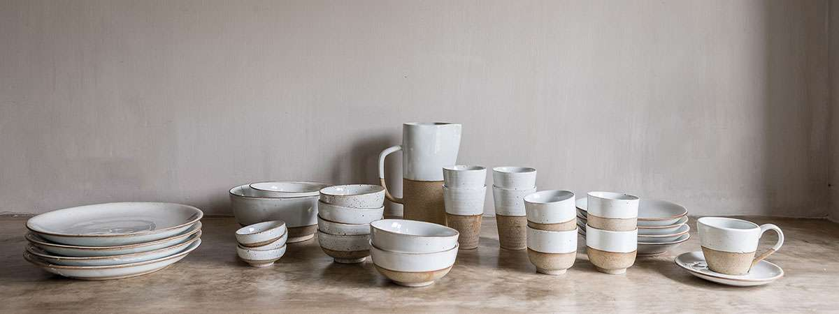 Servies Earthware